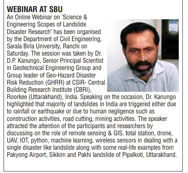 THE PIONEER-RANCHI 5/24/2020 12:00:00 AM