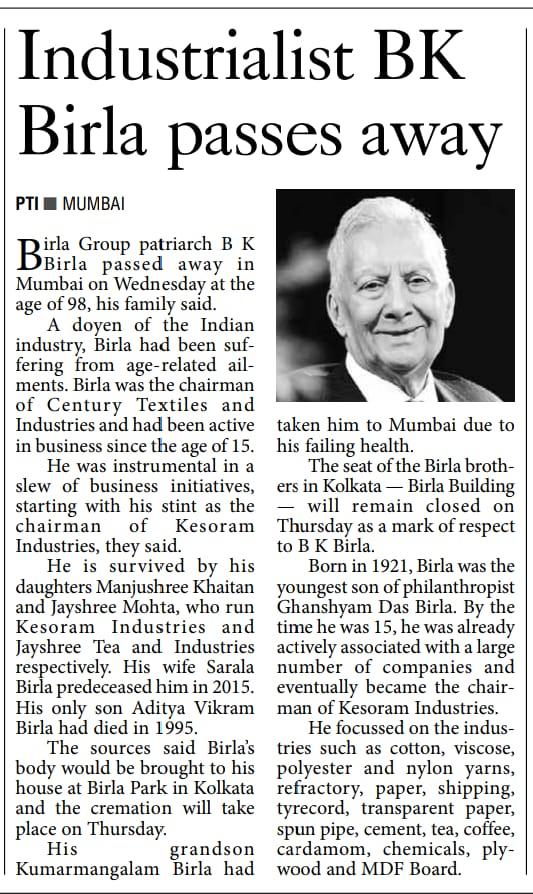 THE PIONEER -MUMBAI 7/4/2019 12:00:00 AM