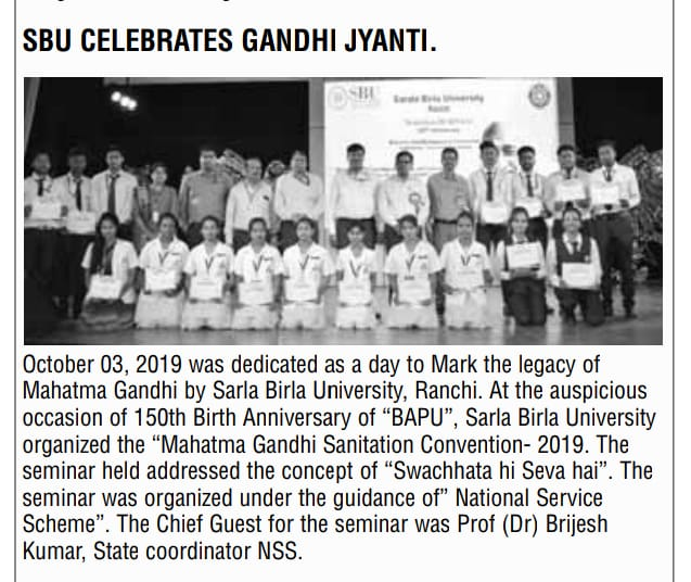 THE PIONEER-RANCHI 10/4/2019 12:00:00 AM