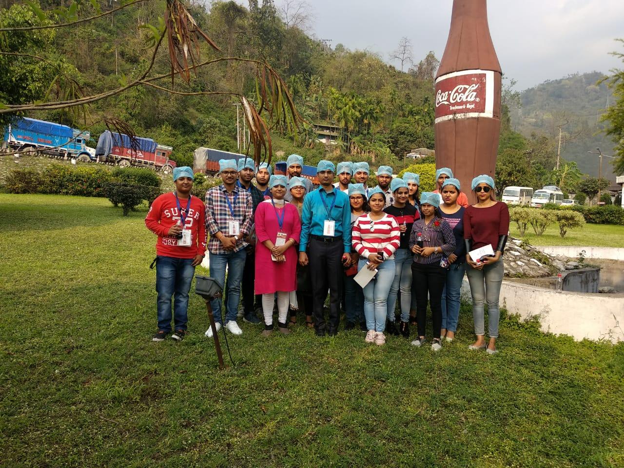 BHUTAN TRIP:STUDENTS VISITED COCA COLA UNIT