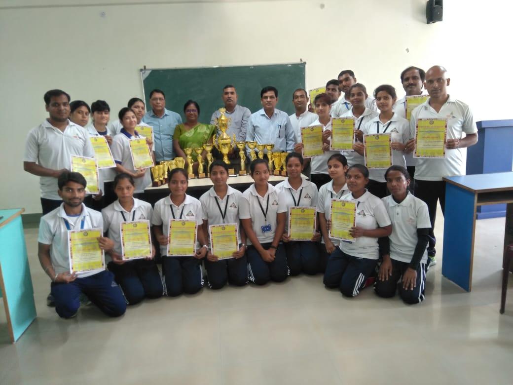 Sarala Birla University is the Winner of 35th Ranchi District Yoga Championship 2019