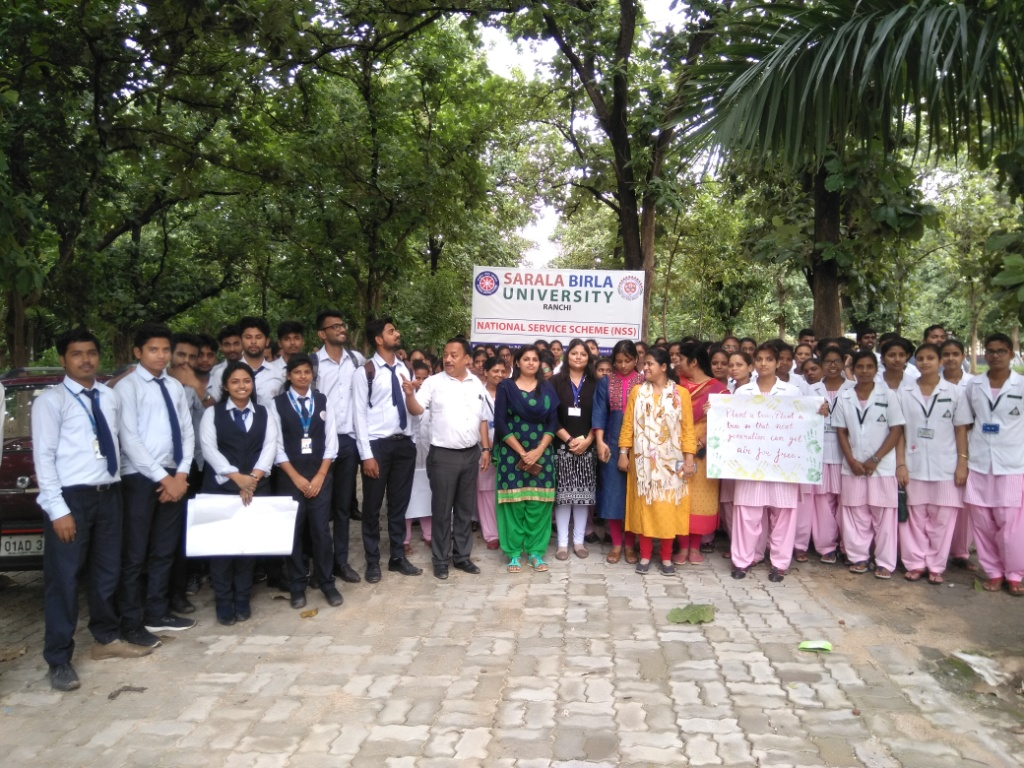 NSS - Swachhata Pakhwara organised by SBU On 13.08.2019
