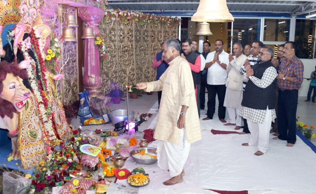 Jagdhatri Puja in SBU Campus-6th Nov,2019