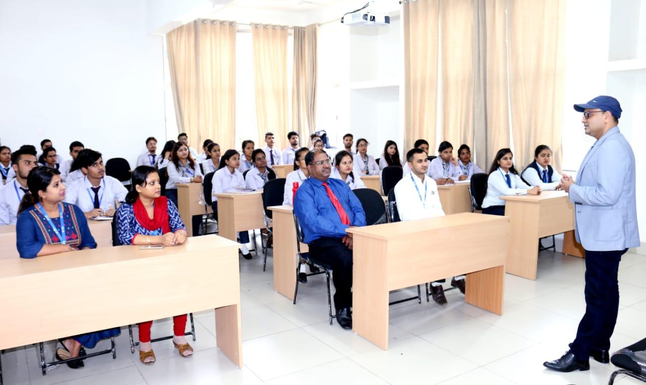Seminar Held in SBU On Management-  7th Nov,2019