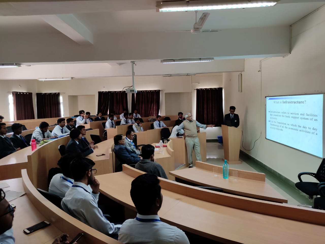 Seminar on Infrastructure Development in Civil Engineering Department- held in SBU Campus 23rd Nov,2019