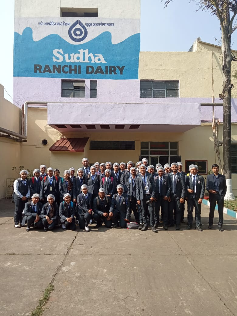 SBU Organized Industrial Visit to Sudha Dairy- 28th Nov,2019