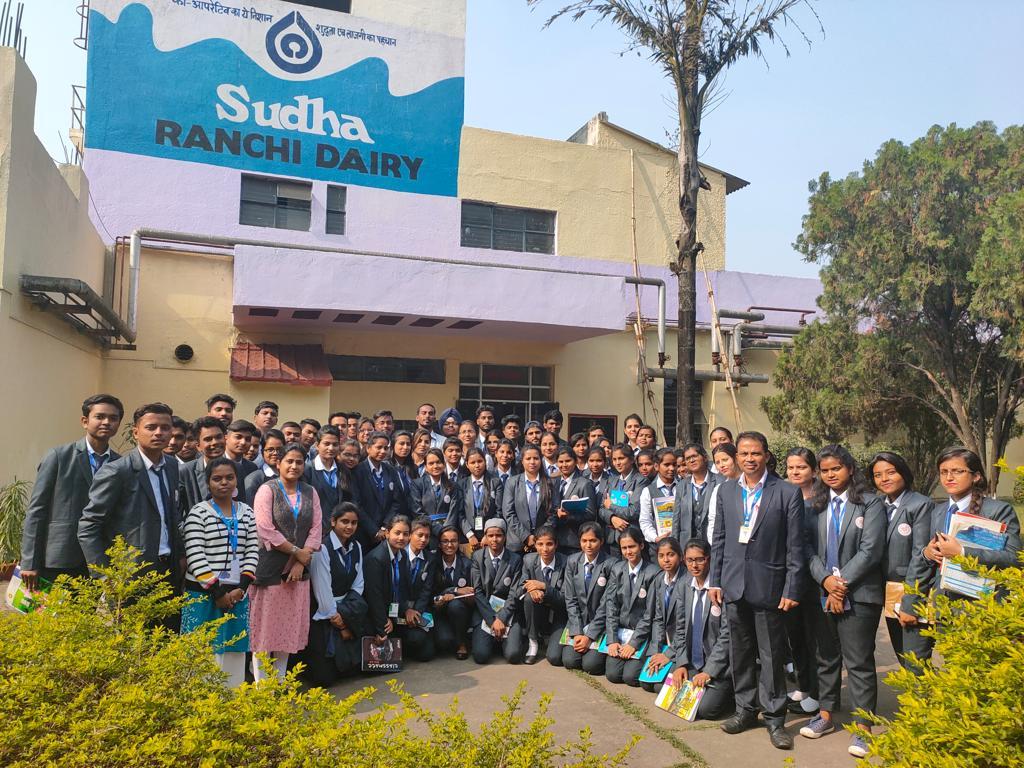 SBU Organized Industrial Visit to Sudha Diary Ranchi - 30th Nov,2019