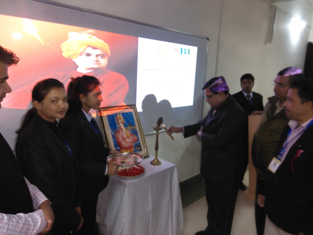 National Youth Day celebration held at SBU Campus on the Occasion of Swami Vivekananda birthday- 12th JAN, 2020