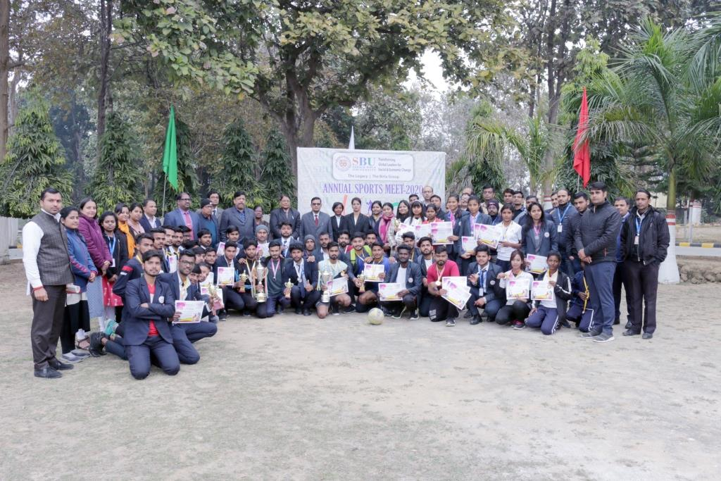 Annual Sports Meet at SBU - UMANG 2020