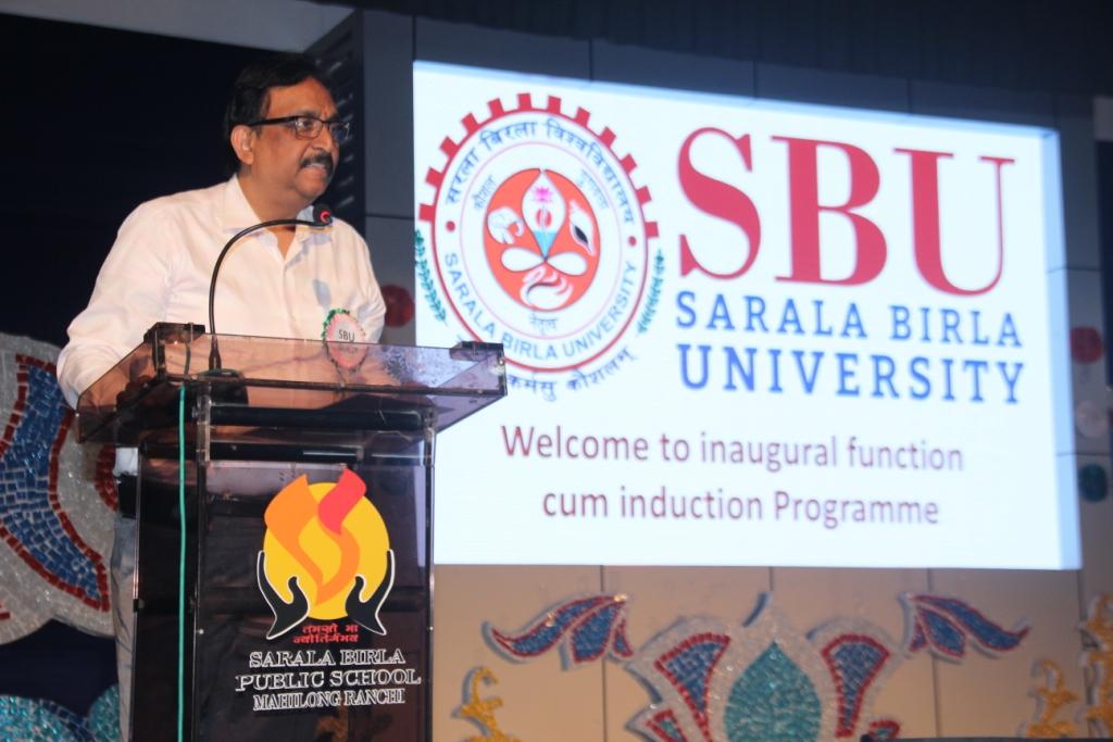 Induction : Address by chief guest Dr Vishnu Priye