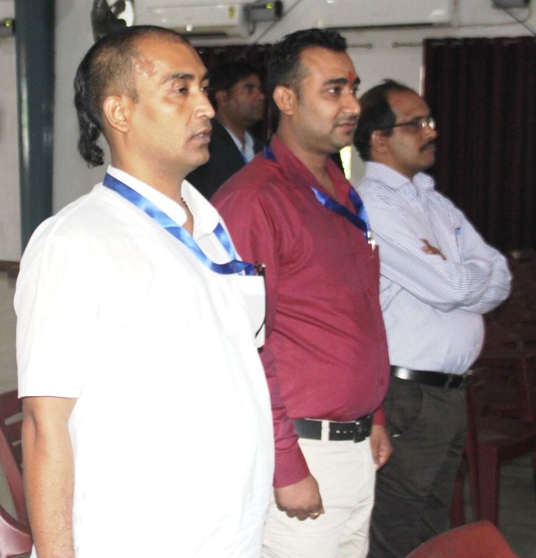 Induction :Staff members SBU