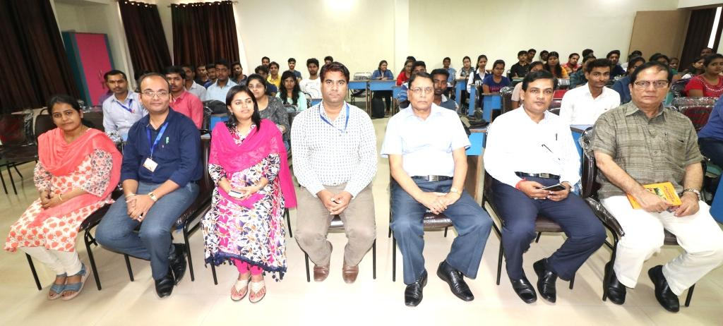 Induction : SBU Faculties with the eminent speaker Dr A K Srivastava
